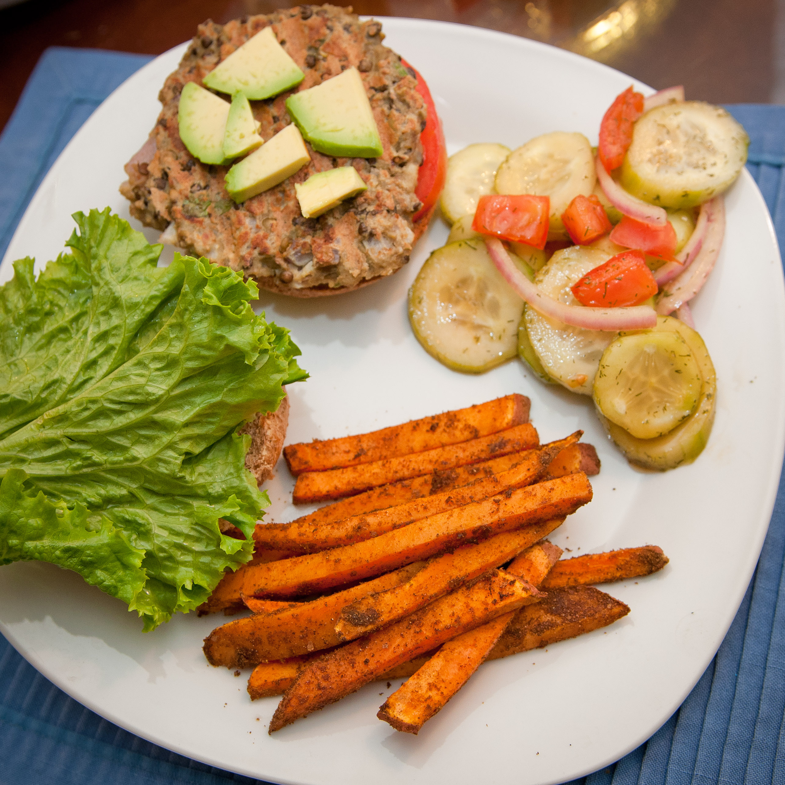 Vegetarian Lentil Burgers | My Real Food Family