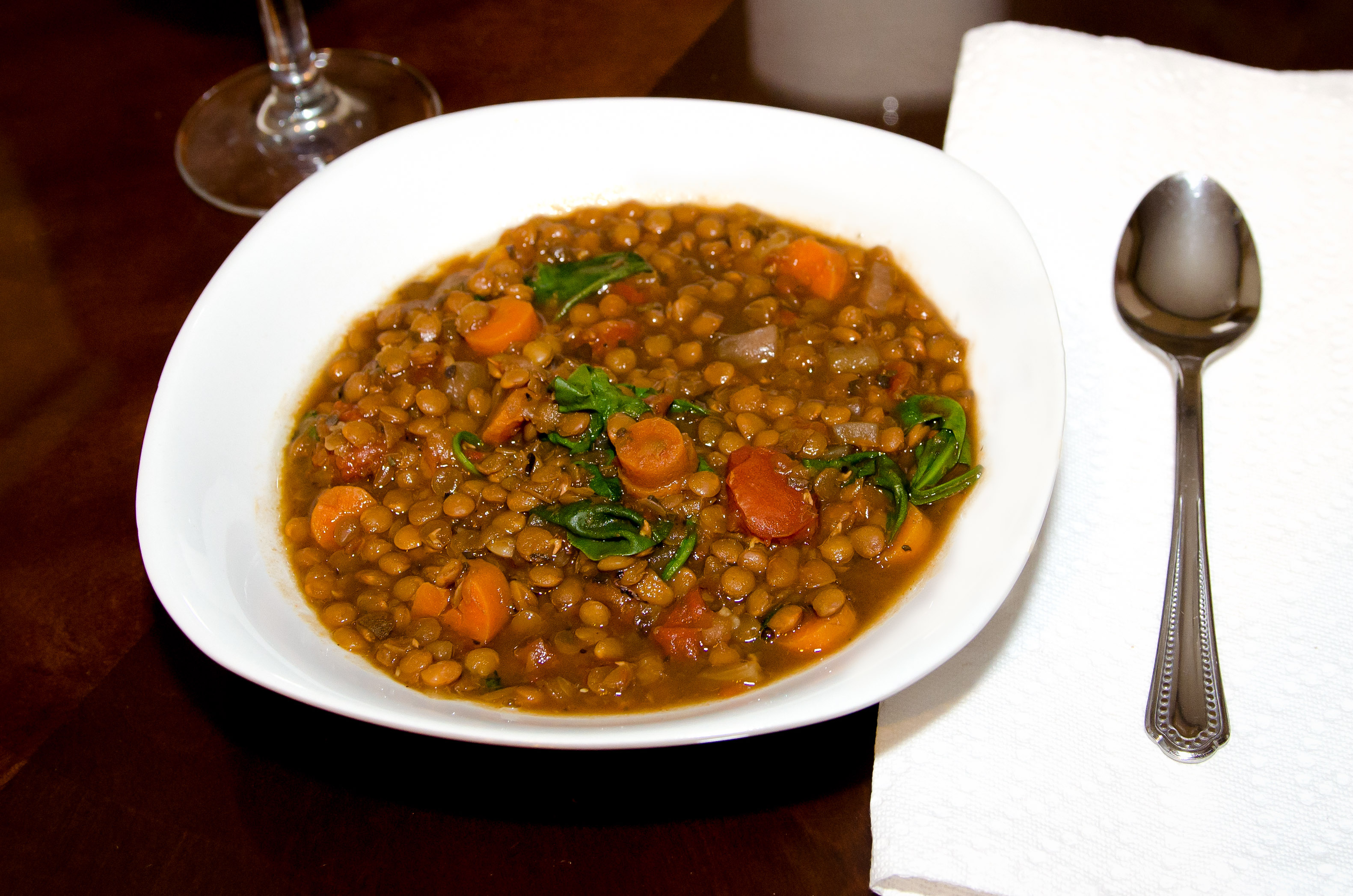 Slow cooker Lentil Soup | My Real Food Family