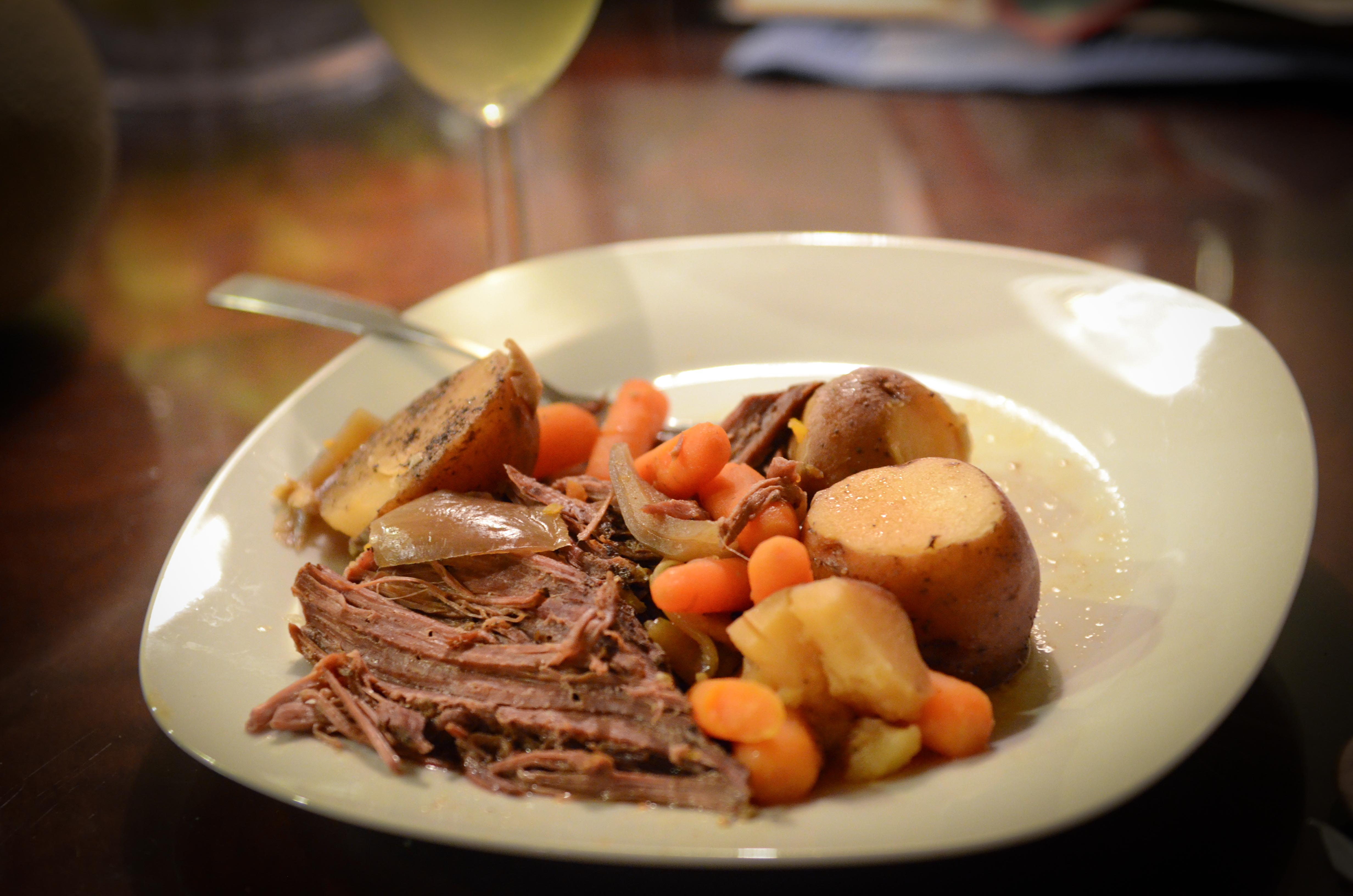 Slow Cooker Pot Roast | My Real Food Family