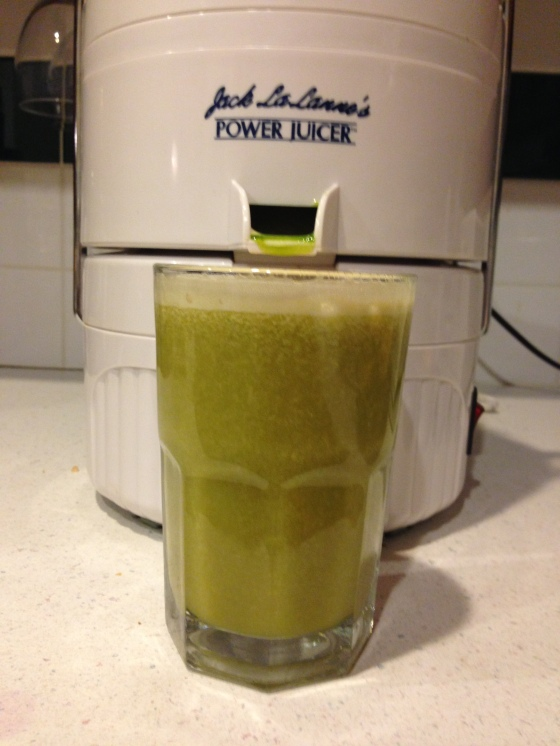 cantaloupe apple spinach juice