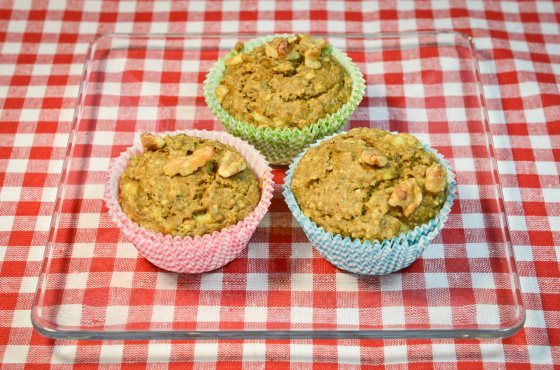 chia seed muffins