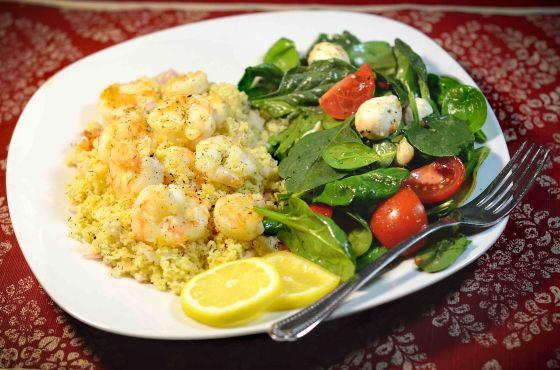 lemon  dill shrimp