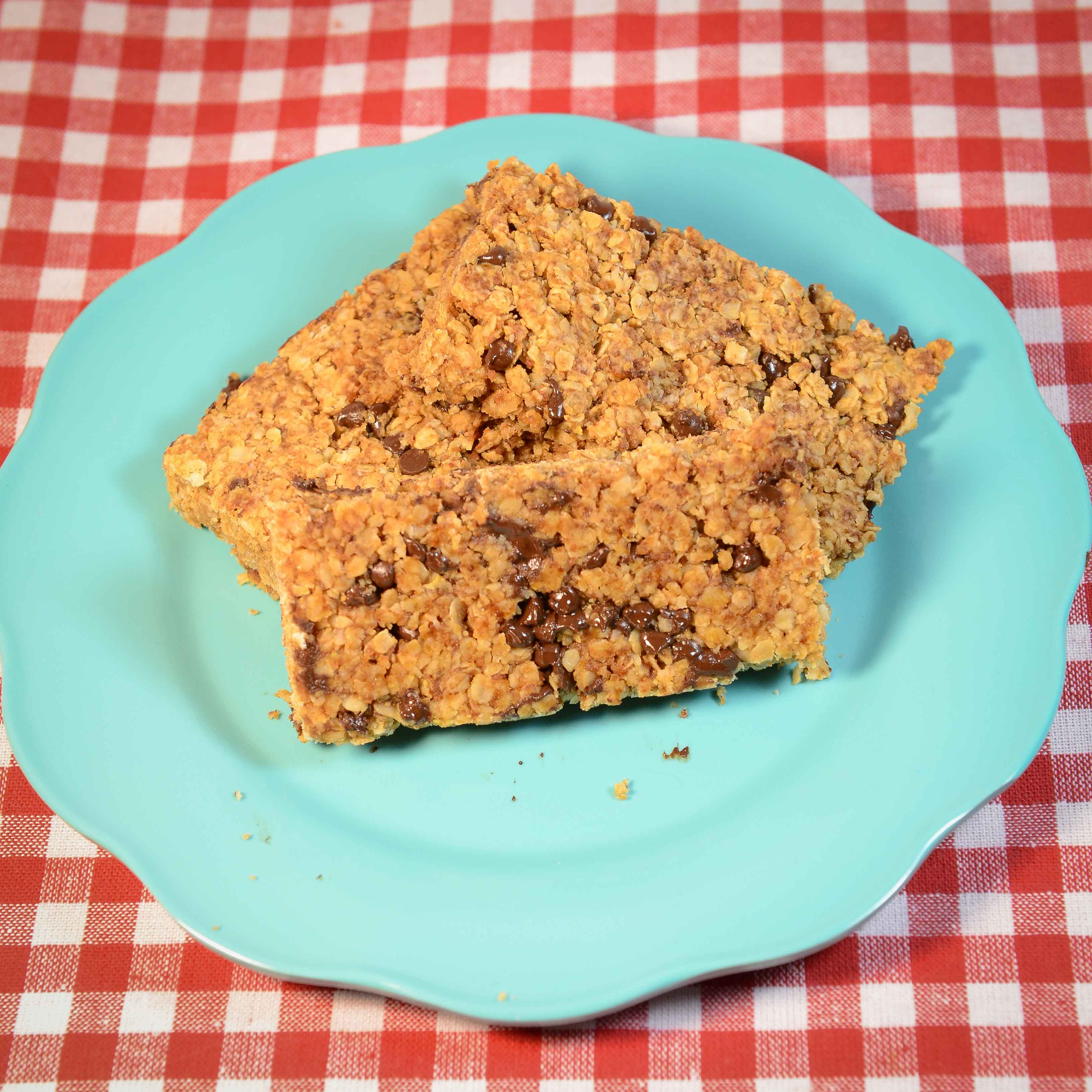 Peanut Butter Granola Bars | My Real Food Family