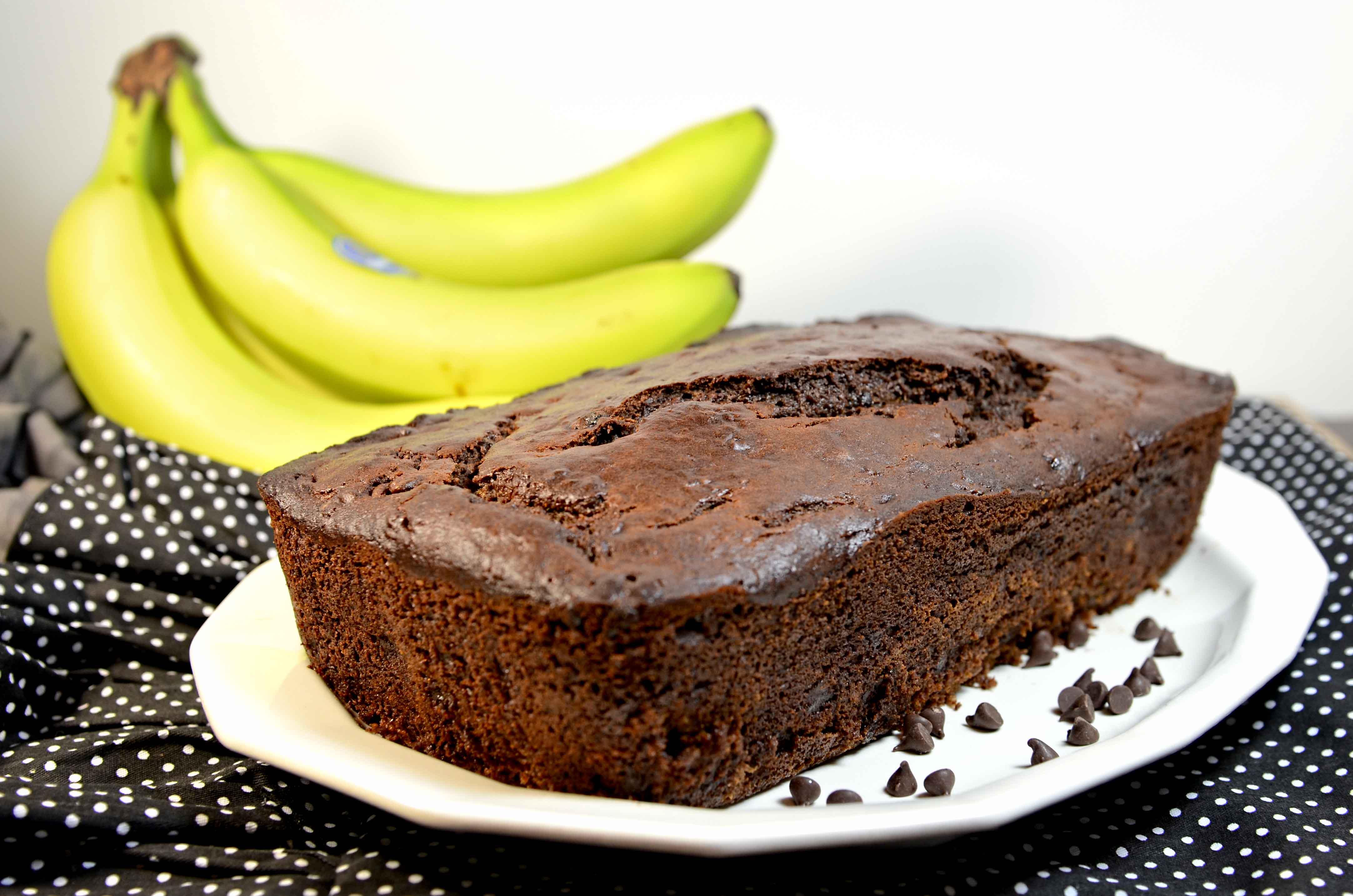 Chocolate Banana Bread | My Real Food Family