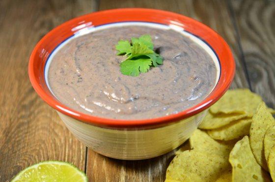 cilantro lime black bean dip