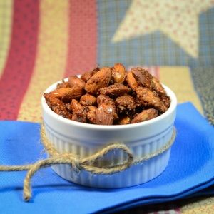 honey coconut roasted almonds