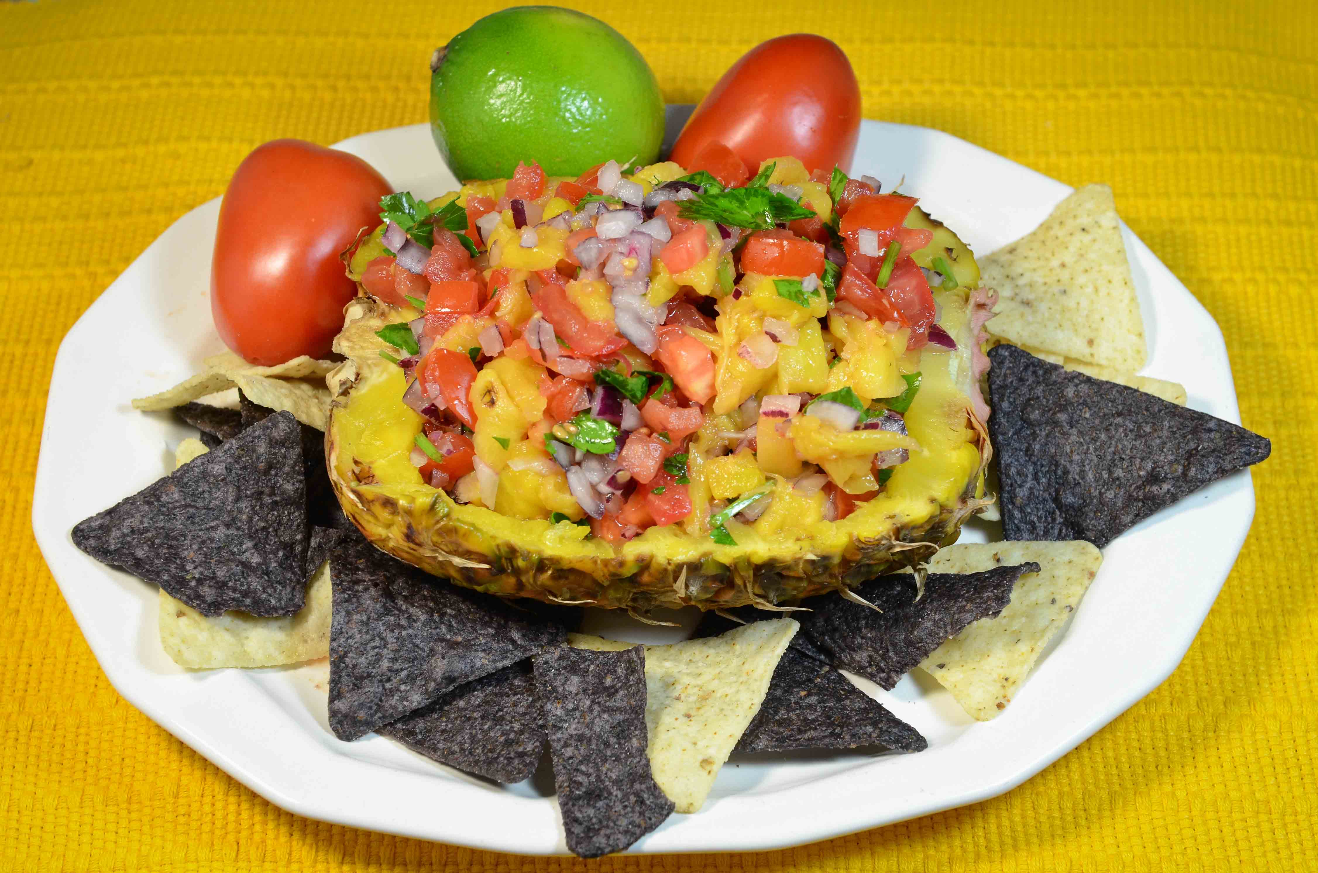 Pineapple Salsa {Guest Post} - This Silly Girl's Kitchen