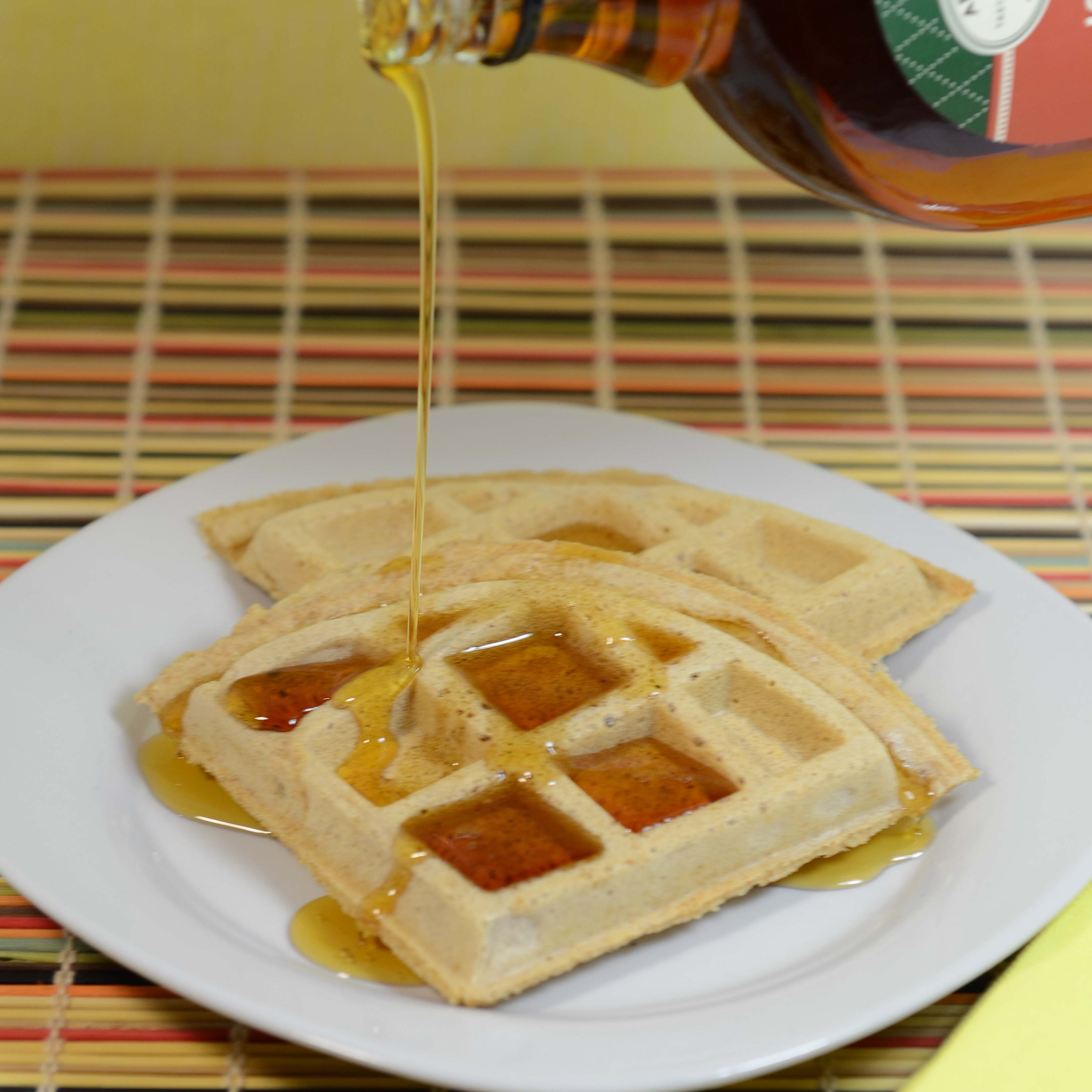 Easy Waffles | My Real Food Family