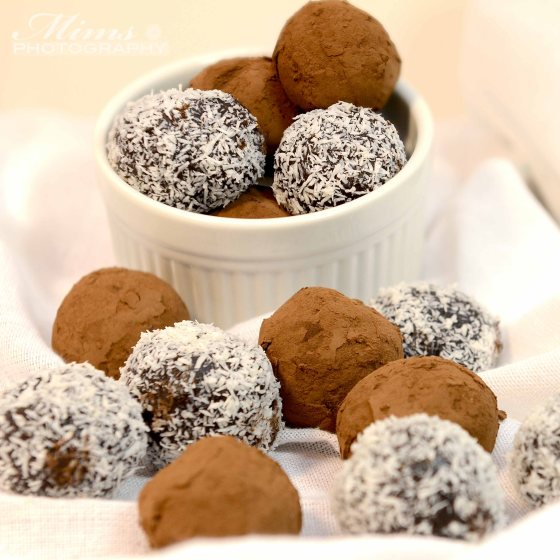 Delicious (and easy) No Bake Chocolate Truffles | My Real Food Family
