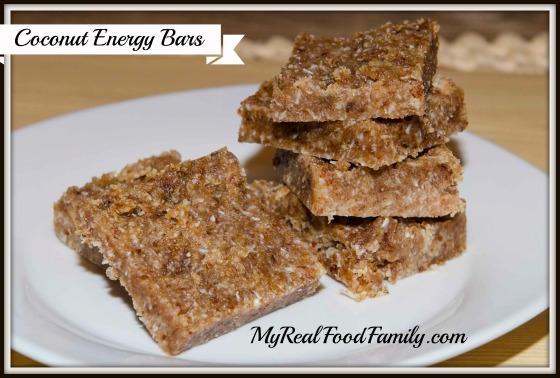 coconut energy bars